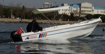 isatek 450 Ege , gezinti balıkçılık , fiber tekne , balıkçılık teknesi, aile teknesi